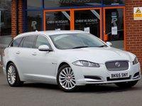 USED 2015 65 JAGUAR XF 2.2d Luxury 5dr Auto Estate ** Sat Nav + Leather **