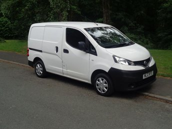 2012 NISSAN NV200 1.5 SE DCI 1d 89 BHP (FINANCE AVAILABLE) NO VAT £3295.00