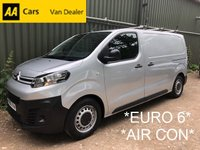 2016 CITROEN DISPATCH 1.6  1000 ENTERPRISE HDI *AIR CON*EURO 6*NO VAT* £9995.00