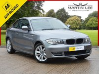USED 2011 11 BMW 1 SERIES 2.0 120D SE 2d AUTO 175 BHP STUNNING DIESEL AUTOMATIC COUPE