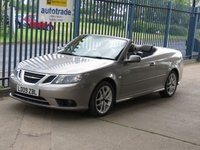 2009 SAAB 9-3 1.8 VECTOR SPORT 2d Full leather Cruise SAAB service history £6000.00