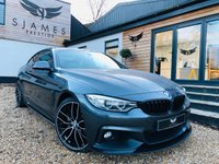 USED 2015 15 BMW 4 SERIES 3.0 430D XDRIVE M SPORT 2d AUTO 255 BHP