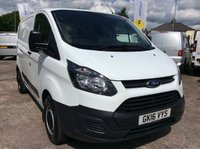 USED 2016 16 FORD TRANSIT CUSTOM SWB 2.2 270 LR 99 BHP 1 OWNER FSH NEW MOT  FREE 6 MONTH AA WARRANTY INCLUDING RECOVERY AND ASSIST NEW MOT EURO 5 BLUETOOTH 6 SPEED ELECTRIC WINDOWS