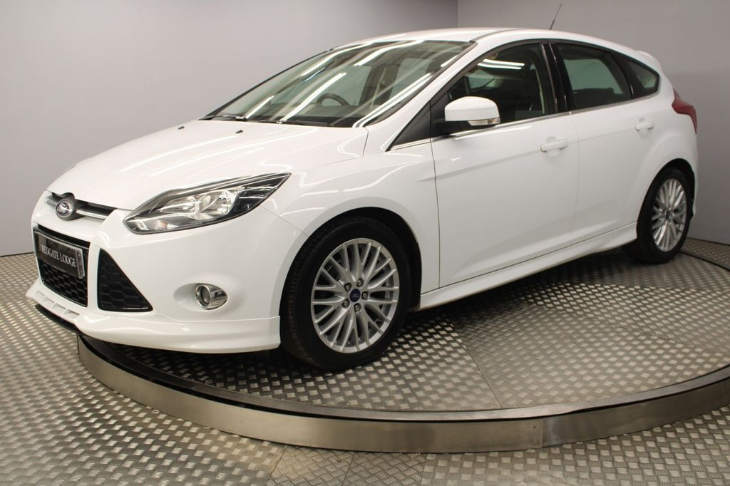 USED 2014 64 FORD FOCUS 1.6 ZETEC S TDCI 5d 113 BHP