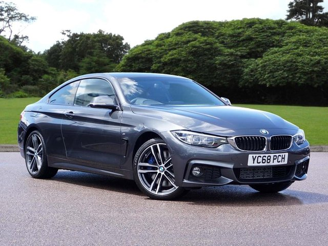 2019 68 BMW 4 SERIES 430d M Sport Coupe