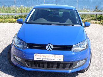 2013 VOLKSWAGEN POLO 1.2 MATCH EDITION 5d 69 BHP £5995.00