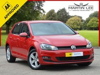 USED 2016 16 VOLKSWAGEN GOLF 1.6 MATCH EDITION TDI BMT 5d 109 BHP COLOUR SAT NAV + HEATED FRONT SEATS + £0 ROAD TAX