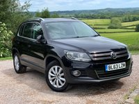 2013 VOLKSWAGEN TIGUAN 2.0 MATCH TDI BLUEMOTION TECHNOLOGY 4MOTION 5d 139 BHP £9885.00