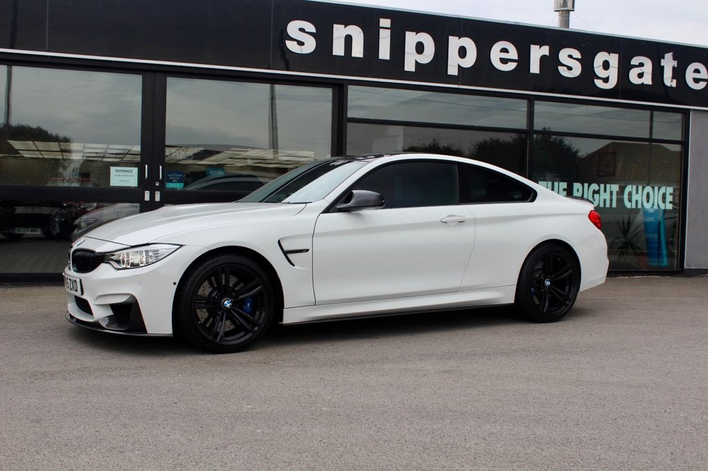 USED 2015 BMW M4 3.0 M4 2d AUTO 426 BHP Huge Specification M4 in Alpine White, Full Carbon Exterior Including Side Skirts, Surround Camera, Ceramic Coating, Carbon Interior, Head Up Display, Navigation System Professional,  Electric Blind, Privacy Glass, Full BMW Service History, Switchable Upgraded Exhaust System, Navigation System Professional, Rain Sensor, Light Package, Cruise Controll, Privacy Glass, Head Up Display, 2 Keys Book Pack And Full BME Service History - Just Services
