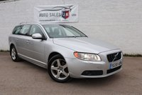 USED 2008 58 VOLVO V70 2.4 D5 SE LUX 5d AUTO 183 BHP
