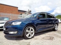 USED 2013 63 SKODA RAPID 1.2 SE GREENTECH TSI 5d 104 BHP 1 FORMER KEEPER 50,000 MILES HEATED SEATS
