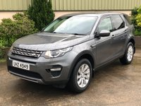 2016 LAND ROVER DISCOVERY SPORT 2.0 TD4 SE TECH 5d AUTO 180 BHP £SOLD