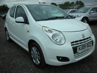 USED 2009 09 SUZUKI ALTO 1.0 SZ4 5d 68 BHP 1 Previous owner - Air con - Recent service and mot