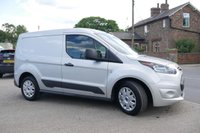 USED 2017 17 FORD TRANSIT CONNECT 1.5 200 TREND P/V 1d 100 BHP DAB RADIO, BLUETOOTH CONNECT, FRONT FOG LIGHTS, 1 OWNER FROM NEW