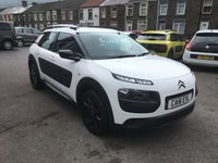 USED 2016 16 CITROEN C4 CACTUS 1.2 PURETECH FEEL S/S 5d 109 BHP LOW MILEAGE, BLUETOOTH, CLIMATE CONTROL, ONE OWNER,