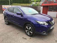 USED 2016 66 NISSAN QASHQAI 1.5 N-CONNECTA DCI 5d 108 BHP LOW MILEAGE ONLY 7,000 !! REVERSE CAMERA, SAT NAV