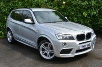 USED 2013 13 BMW X3 2.0 XDRIVE20D M SPORT 5d AUTO 181 BHP 19in ALLOYS