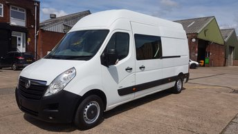 View our VAUXHALL COMMERCIAL MOVANO LWB