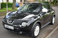 USED 2013 62 NISSAN JUKE 1.6 MINISTRY OF SOUND 5d 117 BHP SERVICE HISTORY, GREAT SPEC, HEATED LEATHER SEATS, REAR PRIVACY GLASS, SAT NAV, REVERSE CAMERA