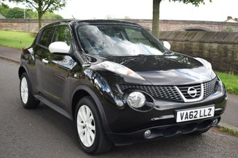 2013 NISSAN JUKE 1.6 MINISTRY OF SOUND 5d 117 BHP £7999.00