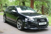 USED 2012 12 AUDI A3 2.0 S3 SPORTBACK TFSI QUATTRO BLACK EDITION 5d AUTO 265 BHP A Stylish S3 Sportback in Fantastic Condition and Loaded with High Spec Features. This Black Edition Model Includes 19 Inch Alloy Wheels with Black Brake Callipers, S3 Exterior Styling, Full Black Nappa Leather Interior with Matte Aluminium Trim, Satellite Navigation,  Heated Seats, Bose Premium Sound System, Heated Mirrors, Leather Multifunction Flat Bottom Sports Steering Wheel with Paddle Shift Gears, Climate Control and Air Conditioning.