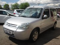 USED 2003 03 CITROEN BERLINGO 1.6 MULTISPACE FORTE 16V 5d 108 BHP FULL SERVICE HISTORY - SEE IMAGES