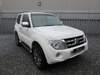 2012 MITSUBISHI SHOGUN 3.2 DI-D WARRIOR 3d AUTO 197 BHP £SOLD