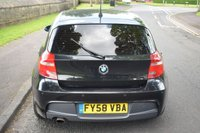 USED 2008 58 BMW 1 SERIES 2.0 118D M SPORT 5d 141 BHP SERVICE HISTORY, SPORTS SEATS, REAR PRIVACY GLASS, RADIO CD PLAYER, ALLOY WHEELS