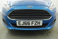 USED 2016 66 FORD FIESTA 1.2 ZETEC BLUE EDITION SPRING 5d 81 BHP Sat Nav-  Rear Parking Sensor