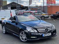 USED 2012 12 MERCEDES-BENZ E CLASS 2.1 E250 CDI BLUEEFFICIENCY SPORT 2d AUTO 204 BHP *ONLY 64K MILES, SAT NAV, 18'' ALLOYS, MUST SEE!*
