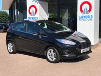 USED 2014 14 FORD FIESTA 1.2 ZETEC 5d 81 BHP DAB | ALLOYS | AIR CON |