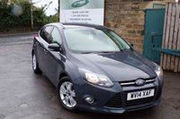 USED 2014 14 FORD FOCUS 1.6 TITANIUM NAVIGATOR TDCI 5d 113 BHP One Former Owner With SAT NAV