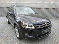 2013 VOLKSWAGEN TIGUAN 2.0 R LINE TDI BLUEMOTION TECHNOLOGY 4MOTION 5d 175 BHP £SOLD