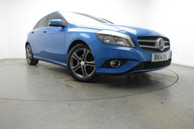 2014 14 MERCEDES-BENZ A CLASS 1.8 A200 CDI BLUEEFFICIENCY SPORT 5d AUTO 136 BHP