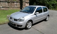 2007 RENAULT CLIO 1.1 CAMPUS SPORT 16V 3d 75 BHP £2195.00