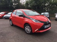USED 2017 17 TOYOTA AYGO 1.0 VVT-I X 3d LOW INSURANCE, ONE OWNER FROM NEW  NO DEPOSIT  PCP/HP FINANCE ARRANGED, APPLY HERE NOW