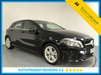USED 2017 67 MERCEDES-BENZ A CLASS 1.6 A 180 SPORT 5d AUTO 121 BHP SERVICE HISTORY - 1 OWNER - LOW MILES - LEATHER- REAR CAMERA - AIR CON - BLUETOOTH - CRUISE