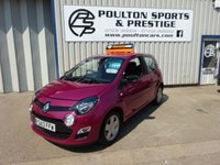 USED 2013 13 RENAULT TWINGO 1.1 DYNAMIQUE 3d 75 BHP ++ LOW MILEAGE AND SERVICE HISTORY ++