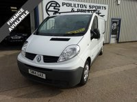 USED 2014 14 RENAULT TRAFIC 2.0 SL27 SPORT DCI S/R P/V 1d 115 BHP NO VAT