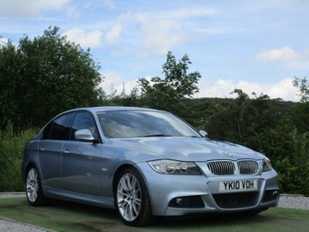 2010 BMW 3 SERIES 2.0 320D M SPORT BUSINESS EDITION 4d AUTO 181 BHP £8990.00