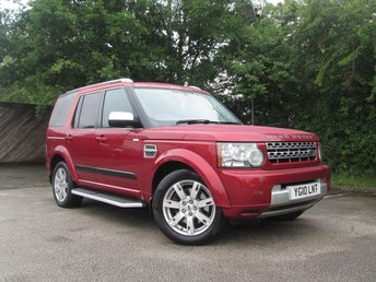 2010 LAND ROVER DISCOVERY 3.0 4 TDV6 GS 5d AUTO 245 BHP £10495.00