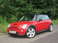 USED 2005 55 MINI HATCH COOPER 1.6 COOPER S 3d 168 BHP HATCHBACK