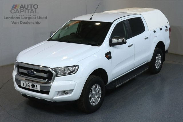 2016 16 FORD RANGER 2.2 XLT 4X4 DCB TDCI 158 BHP AIR CON AIR CON, ONE OWNER, SERVICE HISTORY