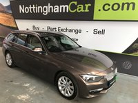 USED 2013 13 BMW 3 SERIES 2.0 318D MODERN TOURING 5d AUTO 141 BHP