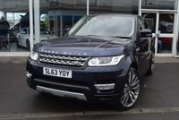 USED 2014 63 LAND ROVER RANGE ROVER SPORT 3.0 SDV6 HSE 5d AUTO 288 BHP FINANCE TODAY WITH NO DEPOSIT