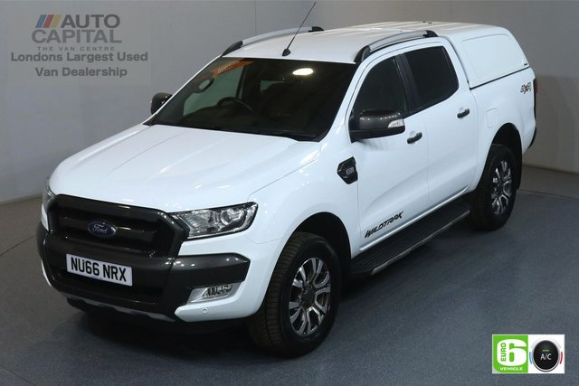 2016 66 FORD RANGER 3.2 WILDTRAK 4X4 DCB TDCI AUTO 197 BHP EURO 6 AIR CON FRONT-REAR PARKING SENSORS