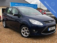 USED 2011 61 FORD GRAND C-MAX 1.6 PETROL ZETEC 5d 124 BHP 7 Seat Petrol Example with a FSH