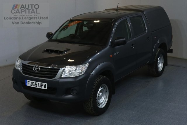 2015 65 TOYOTA HI-LUX 2.5 ACTIVE 4X4 D-4D DCB 142 BHP AIR CON ELECTRIC WINDOWS, MIRRORS, REAR TOW FITTED