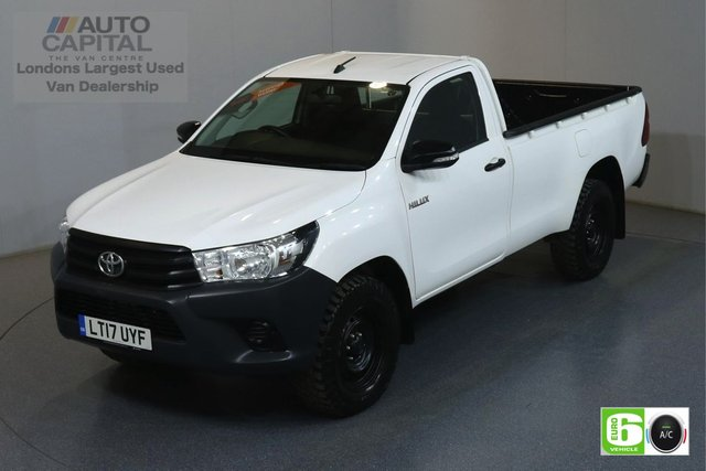 2017 17 TOYOTA HI-LUX 2.4 ACTIVE 4WD D-4D 148 BHP EURO 6 ENGINE AIR CONDITION