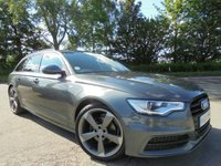 USED 2014 64 AUDI A6 2.0 AVANT TDI ULTRA BLACK EDITION 5d 188 BHP